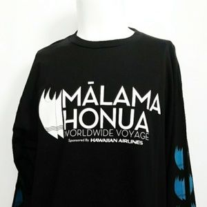 Malama Honua Worldwide Voyage long sleeve